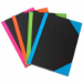CUMBERLAND NOTEBOOK BRIGHT COLOURED CORNERS A6