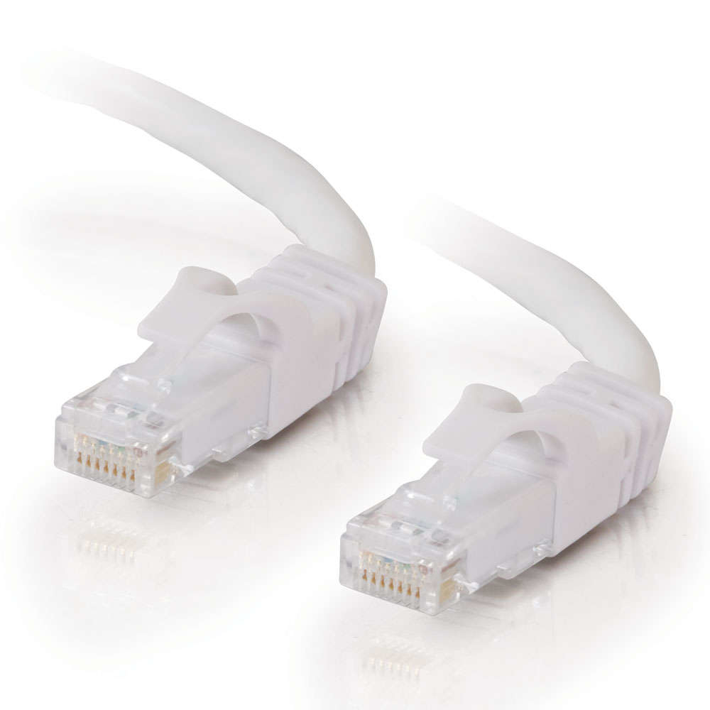 C2G Cat6 Snagless Patch Cable White 20m cable de red U/UTP (UTP) Blanco