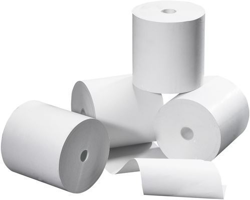 CAPTURE 57mmx40mmx12mm - 18m 48g Thermal paper, 50pcs/box completely free of Bisphenol. Receipt roll