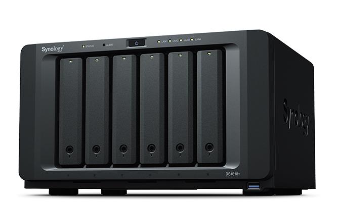 Synology DiskStation DS1618+ Ethernet LAN Tower Black NAS