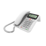 British Telecom BT Decor 2600 Premium Nuisance Call Blocker Analog telephone Caller ID White