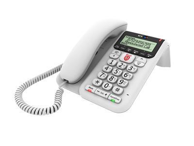 British Telecom BT Decor 2600 Premium Nuisance Call Blocker Analog telephone White Caller ID