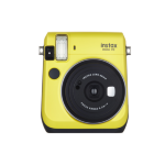 Fujifilm film Instax Mini 70 Instant Camera - Yellow inc 10 Shots