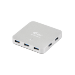 i-tec U3HUBMETAL7 5000Mbit/s Silver interface hub