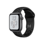 Apple Watch Nike+ Series 4 OLED Grey GPS (satellite) smartwatch