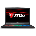 "MSI Gaming GP73 8RE-062UK Leopard 2.2GHz i7-8750H 17.3"" 1920 x 1080pixels Black Notebook"