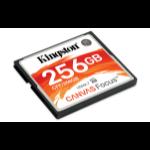 Kingston Technology Canvas Focus memory card 256 GB CompactFlash