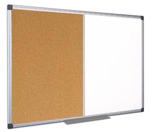 Bi-Office XA0302170 insert notice board Indoor White, Wood Aluminium
