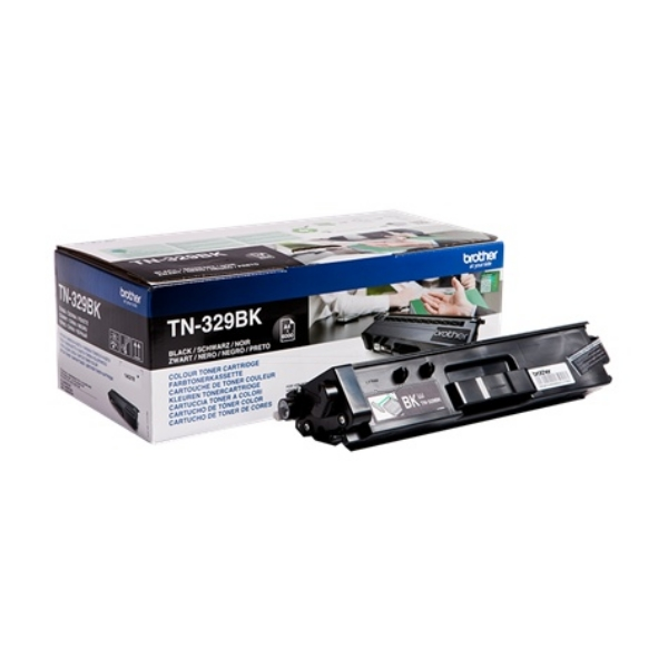 Brother TN-329BK Toner black, 6K pages