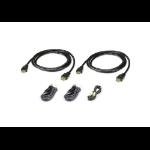 Aten 2L-7D02UHX5 KVM cable 1.8 m Black