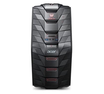 Acer Predator G3-710 3GHz i5-7400 Desktop Black PC
