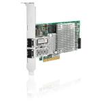 Hewlett Packard Enterprise NC522SFP Dual Port 10GbE Gigabit Server Adapter Ethernet 10000 Mbit/s Internal
