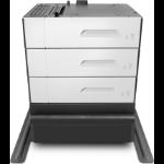 HP Bandeja de papel e suporte para 3x500 folhas PageWide Enterprise