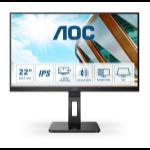 "AOC Pro-line 22P2DU LED display 54.6 cm (21.5"") 1920 x 1080 pixels Full HD Black"