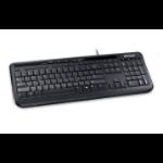 Microsoft Wired Keyboard 600, Black Tastatur USB QWERTZ Schweiz Schwarz