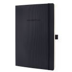 Sigel Conceptum writing notebook Black A4 194 sheets