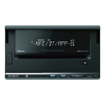Sony XSP-N1BT car media receiver