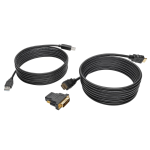 Tripp Lite HDMI/DVI/USB KVM Cable Kit, 3.05 m