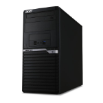 Acer Veriton M6660G 3.7GHz i7-8700K Desktop 8th gen Intel® Core™ i7 Black PC