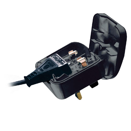 Lindy 73094 power adapter/inverter Black