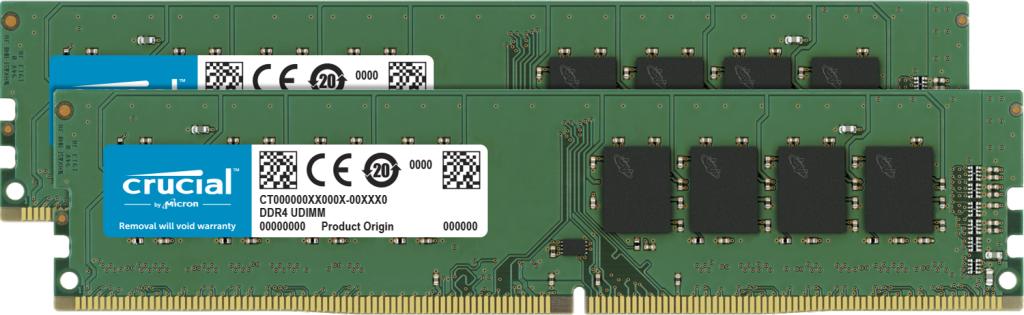Crucial CT2K8G4DFRA32A módulo de memoria 16 GB 2 x 8 GB DDR4 3200 MHz