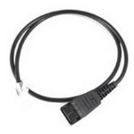 Jabra 8800-00-88 telephony cable 0.5 m Black