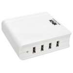 Tripp Lite U280-004-UK Indoor White mobile device charger