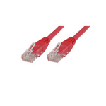 Microconnect CAT5e UTP 5m 5m Cat5e U/UTP (UTP) Red networking cable