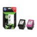 HP 62 2-pack Black/Tri-color Original Ink Cartridges Negro, Cian, Magenta, Amarillo Multipack