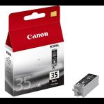 New Genuine Canon PGI-35Bk Black Ink Cartridge
