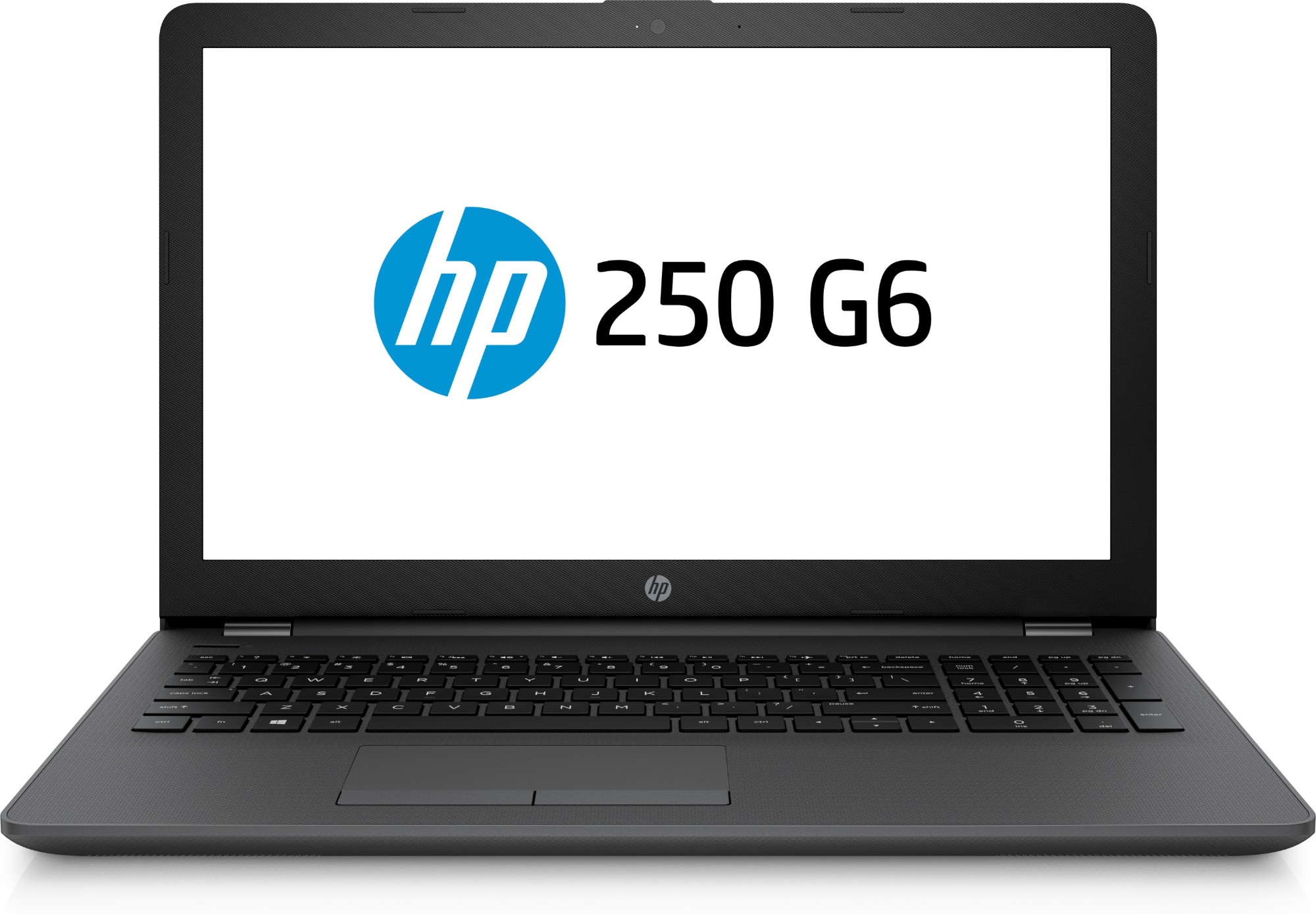 "HP 250 G6 Black Notebook 39.6 cm (15.6"") 7th gen Intel® Core™ i3 4 GB DDR4-SDRAM 1000 GB HDD"