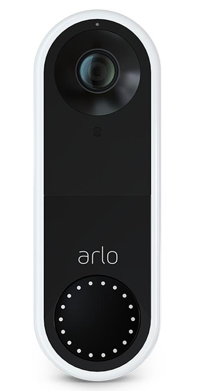 Arlo AVD1001 video intercom system Black, White