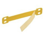 Brady LC-65X13-B7644 cable marker Yellow Polyester, Polypropylene 100 pc(s)
