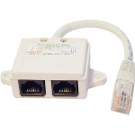 Cablenet 22 2130 White network splitter