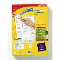 Avery L7159-250 addressing label White Self-adhesive label