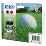 Epson C13T34664010 (34) Ink cartridge multi pack, 6,1ml + 3x4,2ml, Pack qty 4
