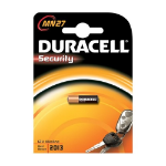 Duracell MN27 Alkaline 12V non-rechargeable battery