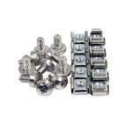 4XEM 4XM6CAGENUTS screw/bolt 100 pcs