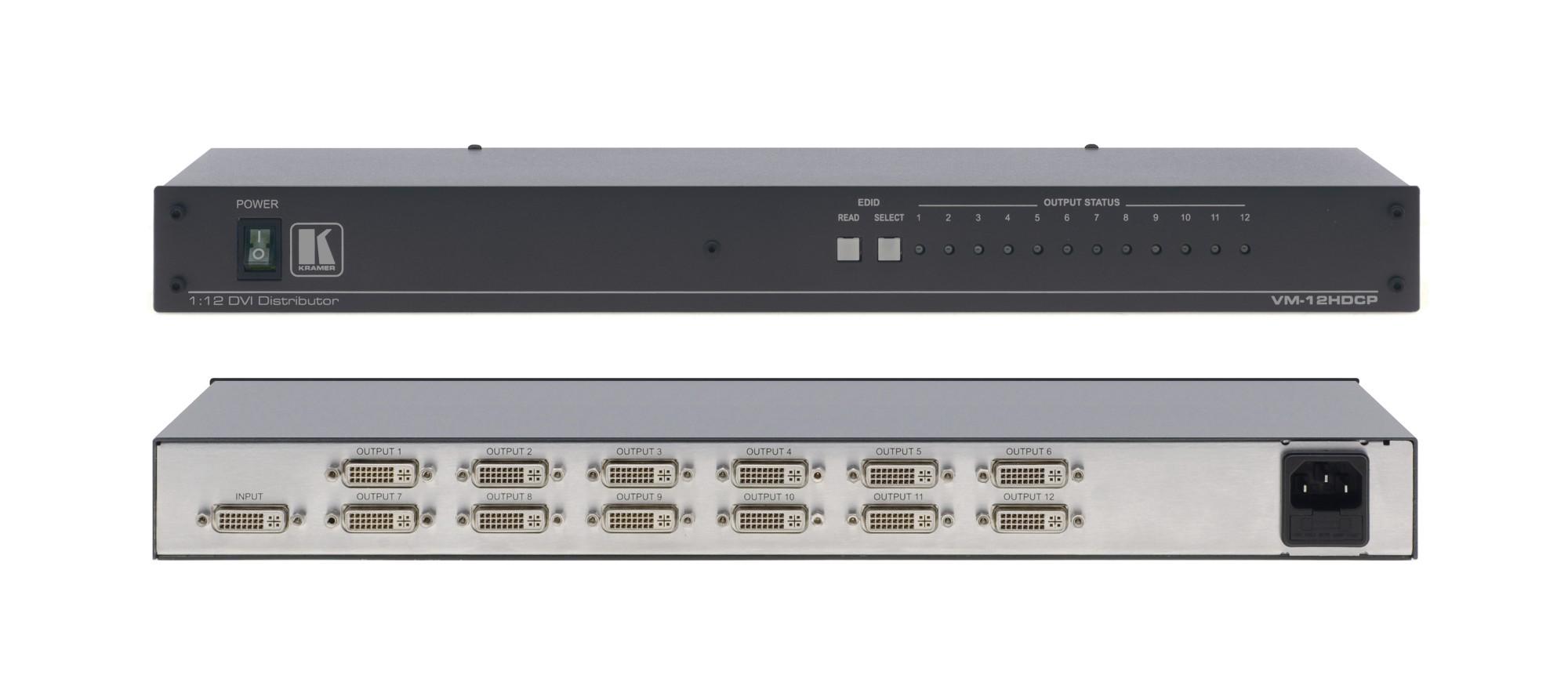 Kramer Electronics VM-12HDCP video line amplifier