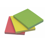 Q-CONNECT Q CONNECT QUICK STICKY NOTE 38X51MM NEON