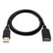 V7 Cable alargador USB M/H de 1 m - Color negro