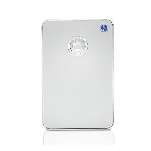 G-Technology 0G03041 G-DRIVE Mobile 1000 GB External Hard Drive - Silver