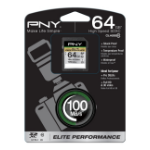 PNY 64GB SDXC memory card Class 10