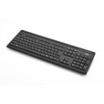 Fujitsu KB410 keyboard USB QWERTY Black