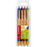 STABILO 6030/4 ballpoint pen Black,Blue,Green 4 pc(s)