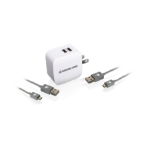 iogear GPAW2U4KIT Outdoor White mobile device charger