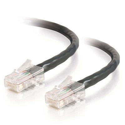 C2G Cat5E Assembled UTP Patch Cable Black 1.5m