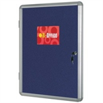 Bi-Office VT630107150 bulletin board Fixed bulletin board Blue Aluminium