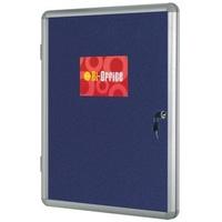 Bi-Office BI SILQUE FELT WIND DISP 600X900 OVAL BL