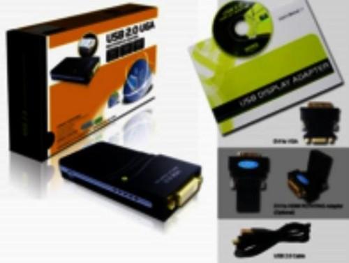 Microconnect USBDVI USB graphics adapter 1920 x 1080 pixels Black